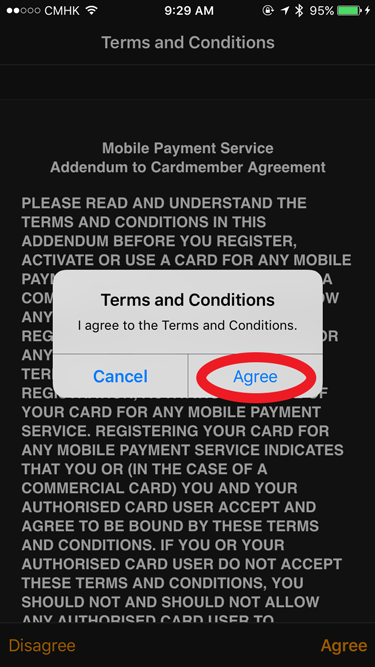 Apple Watch Apple Pay Terms and Conditions