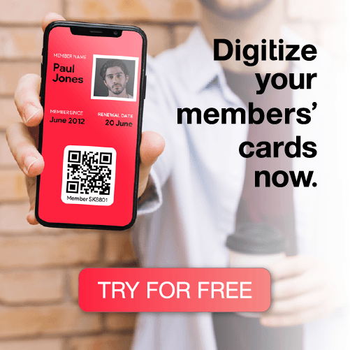 Digitize your members cards now - banner image